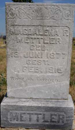 METTLER, MAGDALENA F. - Hutchinson County, South Dakota | MAGDALENA F. METTLER - South Dakota Gravestone Photos