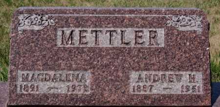 METTLER, MAGDALENA - Hutchinson County, South Dakota | MAGDALENA METTLER - South Dakota Gravestone Photos