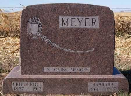 MEYER, BARBARA - Hutchinson County, South Dakota   BARBARA MEYER - South Dakota Gravestone Photos