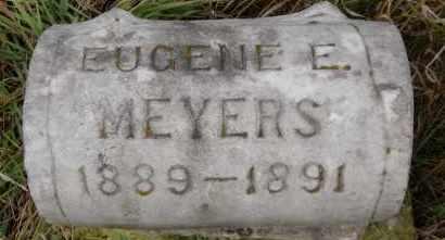 MEYERS, EUGENE E - Hutchinson County, South Dakota   EUGENE E MEYERS - South Dakota Gravestone Photos