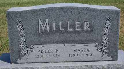 MILLER, MARIA - Hutchinson County, South Dakota | MARIA MILLER - South Dakota Gravestone Photos
