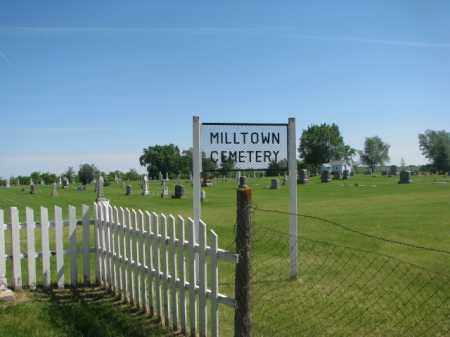 *MILLTOWN, OVERVIEW - Hutchinson County, South Dakota   OVERVIEW *MILLTOWN - South Dakota Gravestone Photos