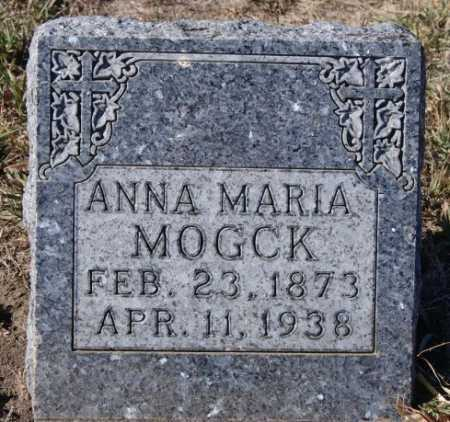 MOGCK, ANNA MARIA - Hutchinson County, South Dakota | ANNA MARIA MOGCK - South Dakota Gravestone Photos