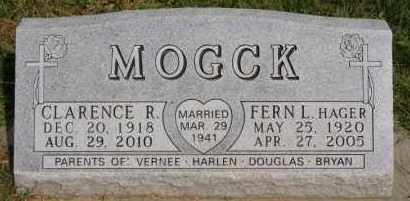 MOGCK, FERN L - Hutchinson County, South Dakota   FERN L MOGCK - South Dakota Gravestone Photos