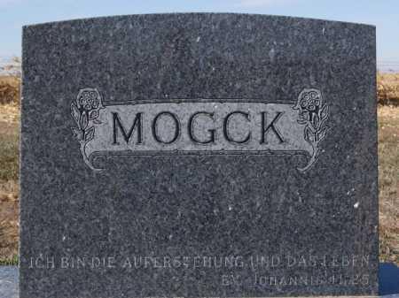 MOGCK, FAMILY MARKER - Hutchinson County, South Dakota | FAMILY MARKER MOGCK - South Dakota Gravestone Photos