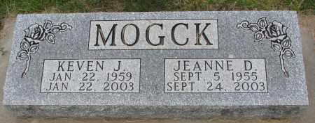 MOGCK, JEANNE D. - Hutchinson County, South Dakota | JEANNE D. MOGCK - South Dakota Gravestone Photos