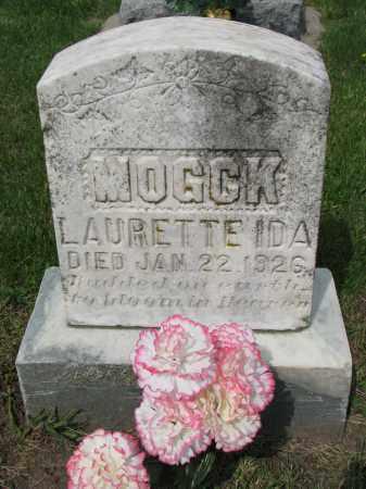 MOGCK, LAURETTE IDA - Hutchinson County, South Dakota | LAURETTE IDA MOGCK - South Dakota Gravestone Photos
