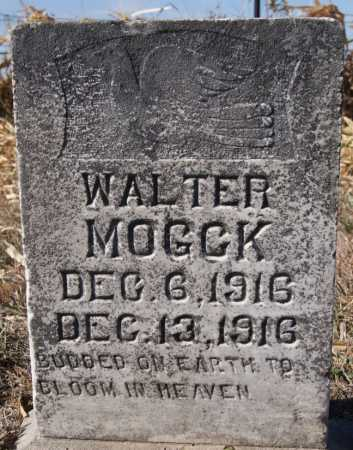 MOGCK, WALTER - Hutchinson County, South Dakota | WALTER MOGCK - South Dakota Gravestone Photos