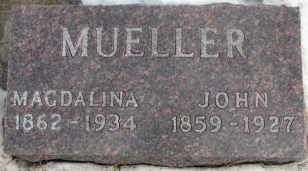 MUELLER, MAGDALINA - Hutchinson County, South Dakota | MAGDALINA MUELLER - South Dakota Gravestone Photos