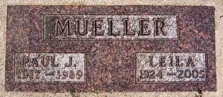 MUELLER, PAUL J - Hutchinson County, South Dakota   PAUL J MUELLER - South Dakota Gravestone Photos