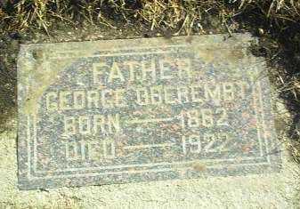 OBEREMBT, GEORGE - Hutchinson County, South Dakota | GEORGE OBEREMBT - South Dakota Gravestone Photos