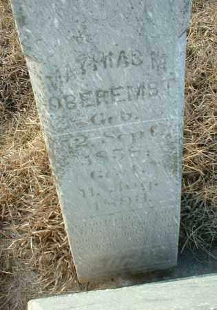 OBEREMBT, MATHIAS - Hutchinson County, South Dakota   MATHIAS OBEREMBT - South Dakota Gravestone Photos