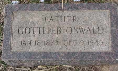 OSWALD, GOTTLIEB - Hutchinson County, South Dakota   GOTTLIEB OSWALD - South Dakota Gravestone Photos