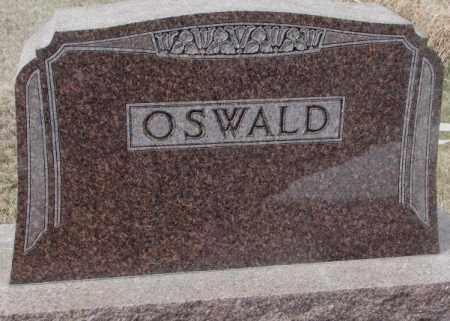 OSWALD, PLOT - Hutchinson County, South Dakota   PLOT OSWALD - South Dakota Gravestone Photos