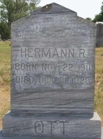 OTT, HERMANN R - Hutchinson County, South Dakota | HERMANN R OTT - South Dakota Gravestone Photos