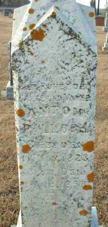 PALLOCH, ANTON - Hutchinson County, South Dakota | ANTON PALLOCH - South Dakota Gravestone Photos