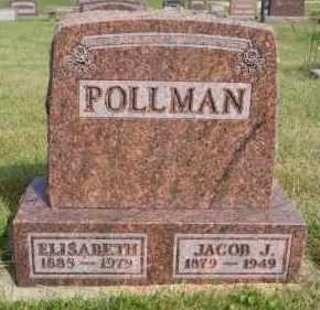 POLLMAN, ELISABETH - Hutchinson County, South Dakota | ELISABETH POLLMAN - South Dakota Gravestone Photos