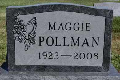 POLLMAN, MAGGIE - Hutchinson County, South Dakota | MAGGIE POLLMAN - South Dakota Gravestone Photos