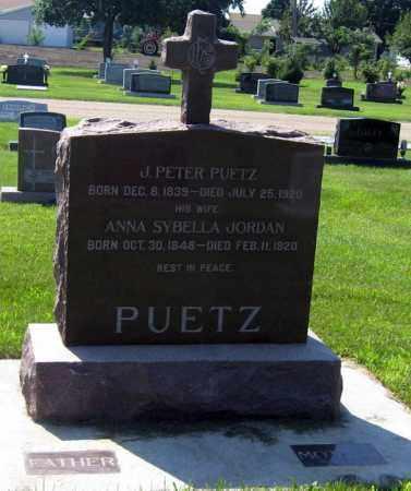 PUETZ, ANNA - Hutchinson County, South Dakota   ANNA PUETZ - South Dakota Gravestone Photos