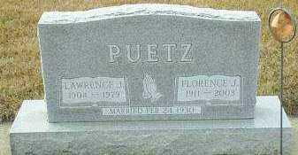 PUETZ, FLORENCE - Hutchinson County, South Dakota   FLORENCE PUETZ - South Dakota Gravestone Photos