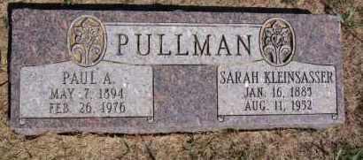 KLEINSASSER PULLMAN, SARAH - Hutchinson County, South Dakota | SARAH KLEINSASSER PULLMAN - South Dakota Gravestone Photos