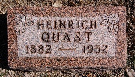 QUAST, HEINRICH - Hutchinson County, South Dakota | HEINRICH QUAST - South Dakota Gravestone Photos