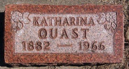 QUAST, KATHARINA - Hutchinson County, South Dakota | KATHARINA QUAST - South Dakota Gravestone Photos