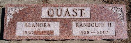 QUAST, RANDOLPH H - Hutchinson County, South Dakota | RANDOLPH H QUAST - South Dakota Gravestone Photos
