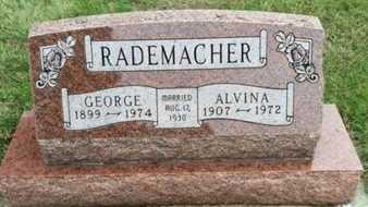 RADEMACHER, ALVINA - Hutchinson County, South Dakota | ALVINA RADEMACHER - South Dakota Gravestone Photos