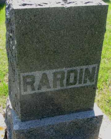 RARDIN, PLOT - Hutchinson County, South Dakota | PLOT RARDIN - South Dakota Gravestone Photos