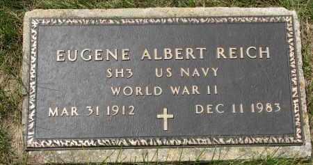 REICH, EUGENE ALBERT (WW II) - Hutchinson County, South Dakota   EUGENE ALBERT (WW II) REICH - South Dakota Gravestone Photos