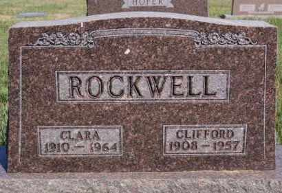 ROCKWELL, CLIFFORD - Hutchinson County, South Dakota | CLIFFORD ROCKWELL - South Dakota Gravestone Photos