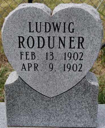 RODUNER, LUDWIG - Hutchinson County, South Dakota | LUDWIG RODUNER - South Dakota Gravestone Photos