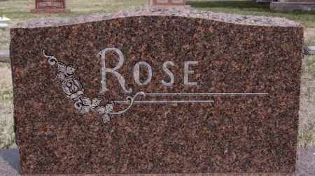 ROSE, FAMILY MARKER - Hutchinson County, South Dakota | FAMILY MARKER ROSE - South Dakota Gravestone Photos