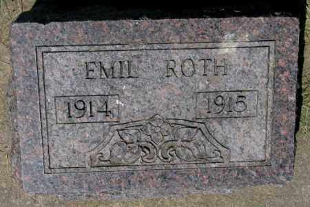 ROTH, EMIL - Hutchinson County, South Dakota | EMIL ROTH - South Dakota Gravestone Photos