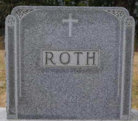 ROTH, FAMILY MARKER - Hutchinson County, South Dakota | FAMILY MARKER ROTH - South Dakota Gravestone Photos