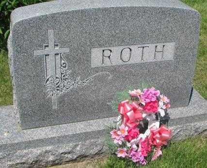 ROTH, FAMILY PLOT MARKER - Hutchinson County, South Dakota | FAMILY PLOT MARKER ROTH - South Dakota Gravestone Photos