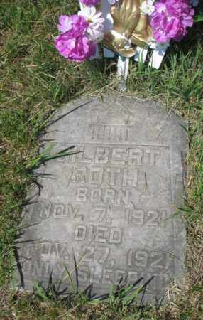 ROTH, GILBERT - Hutchinson County, South Dakota | GILBERT ROTH - South Dakota Gravestone Photos