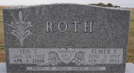 ROTH, ELMER F - Hutchinson County, South Dakota | ELMER F ROTH - South Dakota Gravestone Photos