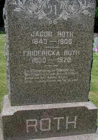 ROTH, JACOB - Hutchinson County, South Dakota | JACOB ROTH - South Dakota Gravestone Photos