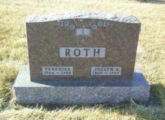 ROTH, VERONICA - Hutchinson County, South Dakota | VERONICA ROTH - South Dakota Gravestone Photos