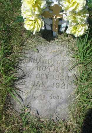 ROTH, LENHARD OTTO - Hutchinson County, South Dakota | LENHARD OTTO ROTH - South Dakota Gravestone Photos