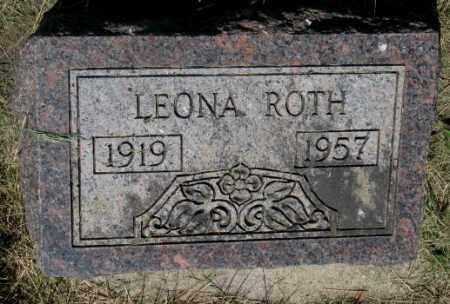 ROTH, LEONA - Hutchinson County, South Dakota | LEONA ROTH - South Dakota Gravestone Photos