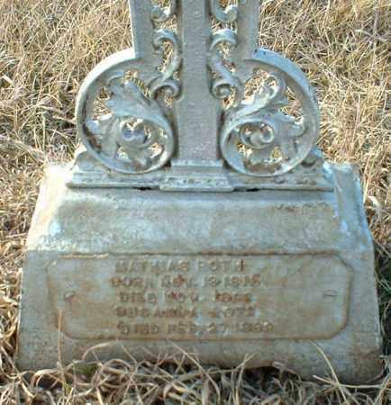 ROTH, MATHIAS - Hutchinson County, South Dakota | MATHIAS ROTH - South Dakota Gravestone Photos