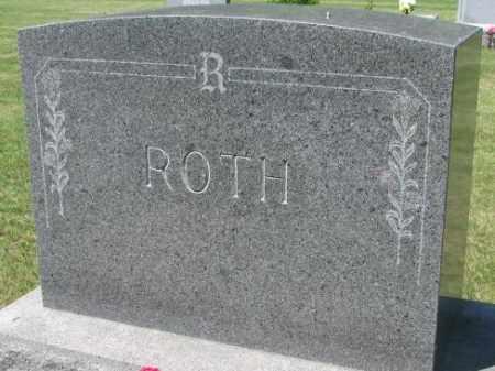 ROTH, PLOT MARKER - Hutchinson County, South Dakota | PLOT MARKER ROTH - South Dakota Gravestone Photos