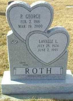 ROTH, LAVALLE - Hutchinson County, South Dakota | LAVALLE ROTH - South Dakota Gravestone Photos