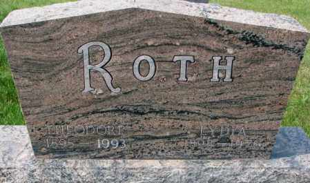ROTH, LYDIA - Hutchinson County, South Dakota | LYDIA ROTH - South Dakota Gravestone Photos