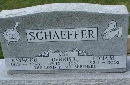 SCHAEFFER, EDNA M. - Hutchinson County, South Dakota | EDNA M. SCHAEFFER - South Dakota Gravestone Photos
