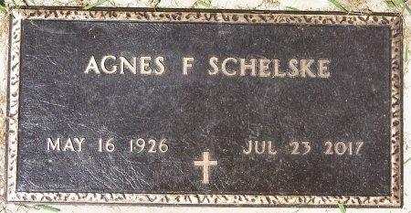 SCHELSKE, AGNES F - Hutchinson County, South Dakota | AGNES F SCHELSKE - South Dakota Gravestone Photos