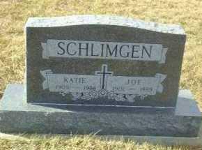 SCHLIMGEN, KATIE - Hutchinson County, South Dakota   KATIE SCHLIMGEN - South Dakota Gravestone Photos